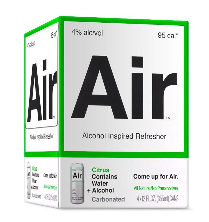 Air packaging by Turner Duckworth