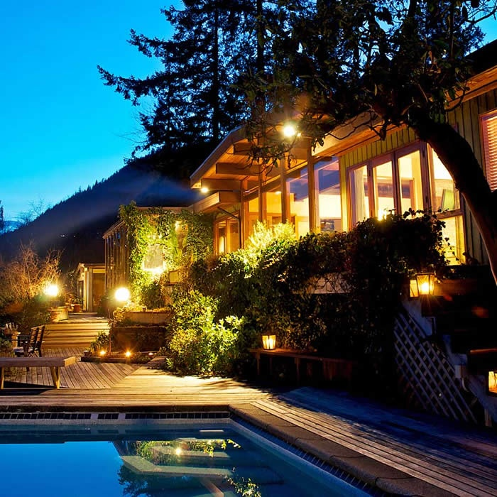 Bowen Island Hot Property. House from