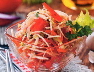 Витаминные салаты из капусты — классические и оригинальные рецепты