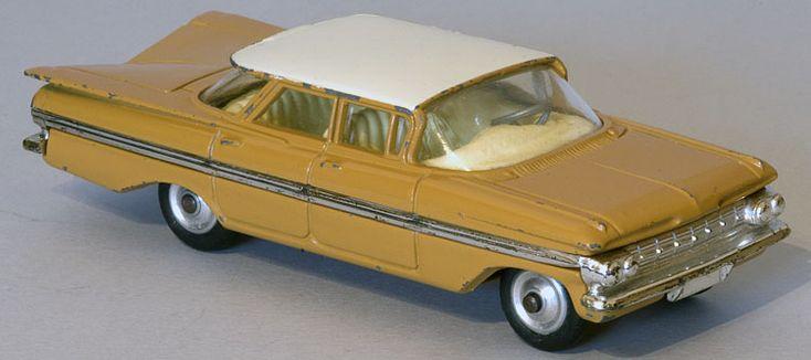 Corgi Toys: 248 Chevrolet Impala 1965 - 1966