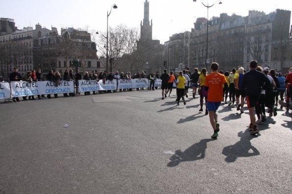 Plus de 40 000 coureurs attendus pour cette 21e édition du semi-marathon de Paris, qui a eu lieu le dimanche 3 mars 2013. Une fois encore, le départ a été donné au Parc Floral de Paris, et l'arrivée – après une boucle de quelques 21,1 km – a eu lieu non loin des serres, sur l'esplanade du Château de Vincennes.