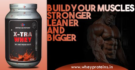 British Nutritions Xtra Whey is a Best Muscle Gainer Supplement.