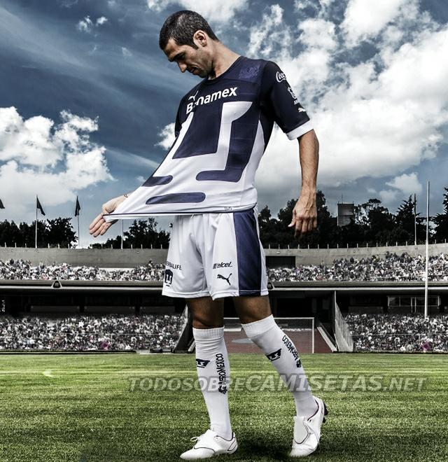 Todo Sobre Camisetas: Nuevas Playeras Puma de Pumas UNAM 2012/2013