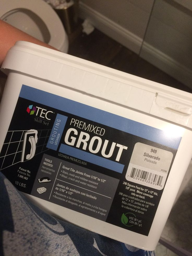 premixed grout