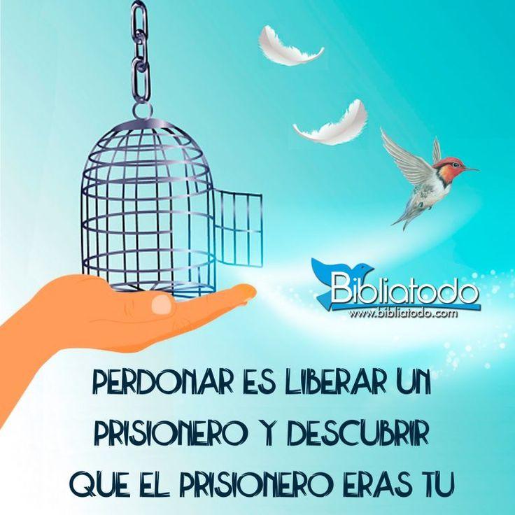 Perdonar es liberar un prisionero
