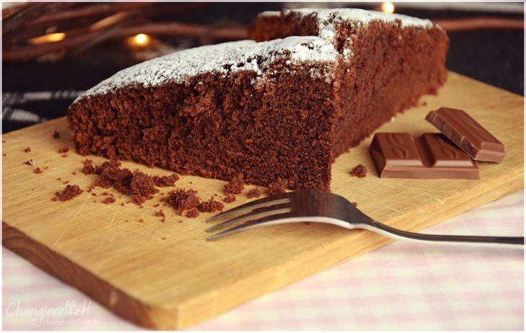 Flauschiger Schokoladenkuchen   – Food: Cakes // Kuchen & Gebäck