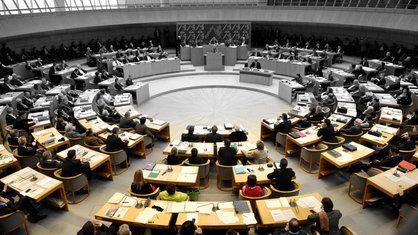 Landtag Düsseldorf |  Bildquelle: WDR/dapd/Schürmann[M]Urru