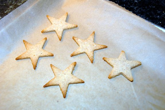 Winter ~ Advent ~ Santa Lucia ~ Star Cookies ~ Gluten Free ~ recipe