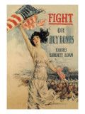 FIGHT! or Buy Bonds: Third Liberty Loan Howard Chandler Christy