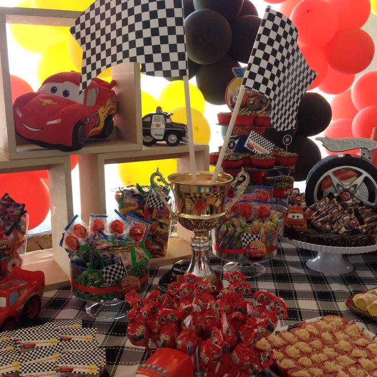 Fiesta de cars mis decoraciones en decopartyc - Decoracion fiestas vintage ...