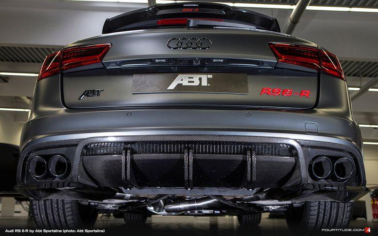 Audi Rs 6 R Avant By Abt Sportsline Cars Pinterest Bilar