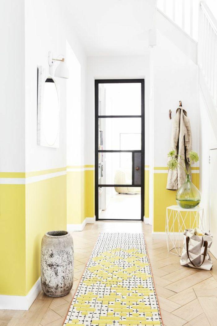 Déco Couloir étroit Peinture Murale Idée Déco Couloir
