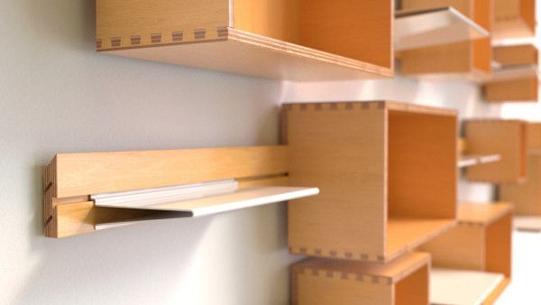 Wallace: A Modular Shelving System for Every Room                              …