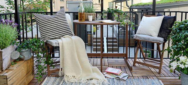 8 stylowych pomysłów jak urządzić balkon