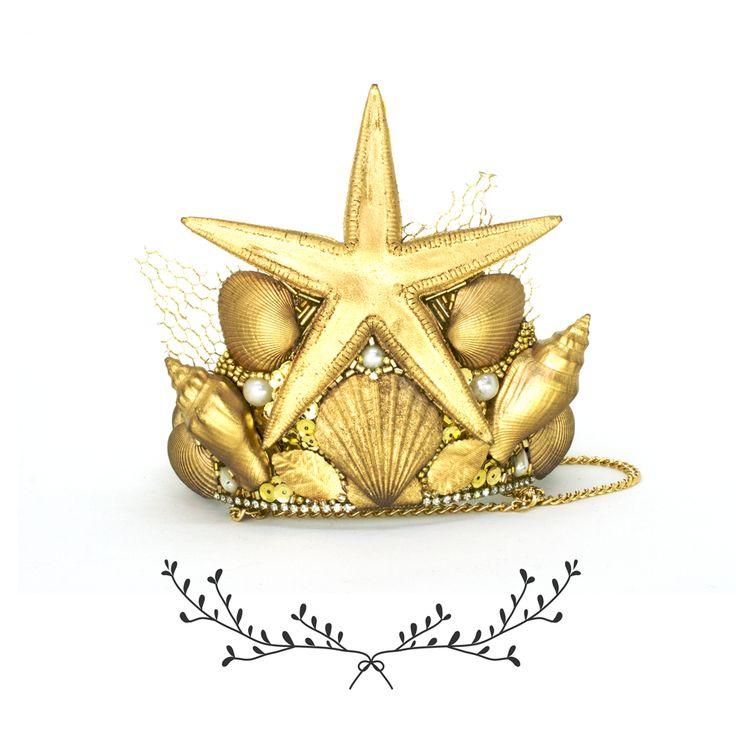 Graced - Coroa Sereia Glimmer ®DaniFahur ©Graced http://graced.com.br