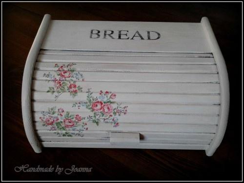 Decoupage bread box