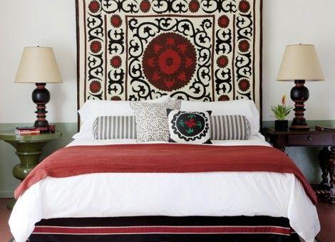 etnische slaapkamer