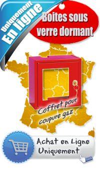 Coffret pour coupure gaz - protection incendie - 102.4 HT - Le Plus Grand Choix de boites sous verre dormant, A Prix Cassés sur Sécurishop,la boutique des achats et vente en ligne. Les prix les plus bas du Web