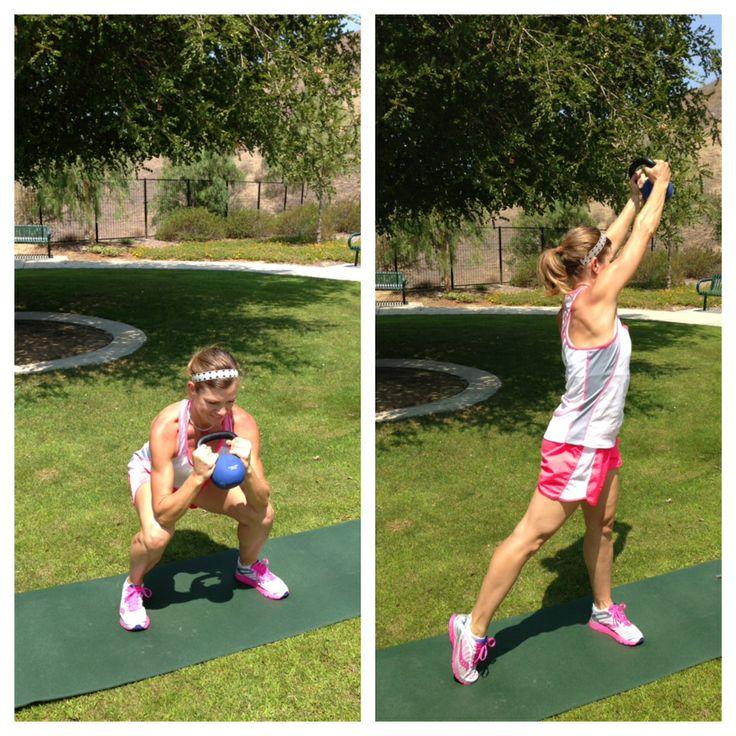 Full Body Kettlebell Workout For Beginners: 17 Best Images About Kettlebell Workouts On Pinterest