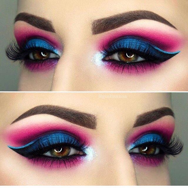 25+ best Colorful eyeshadow ideas on Pinterest : Fun ...