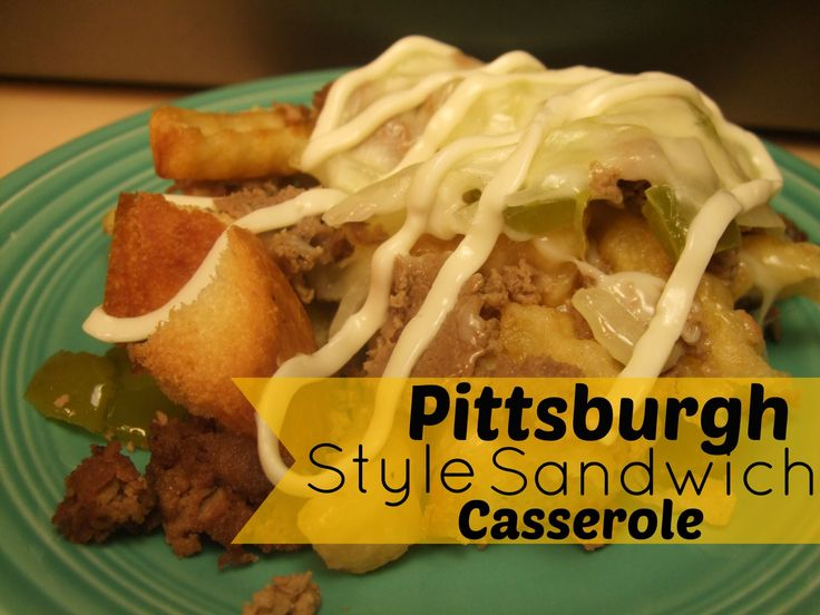 Pittsburgh Style Sandwich