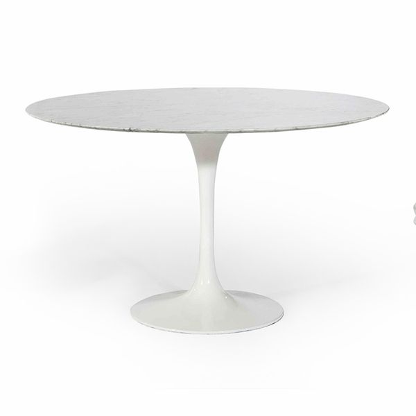 "Saarinen Tulip Round Marble Dining Table 36""  was $2987.50, now $1195  was  dotandbo.com  now www.inmod.com"