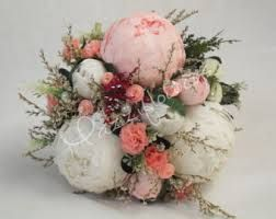 Image result for simple peony bridesmaid flower