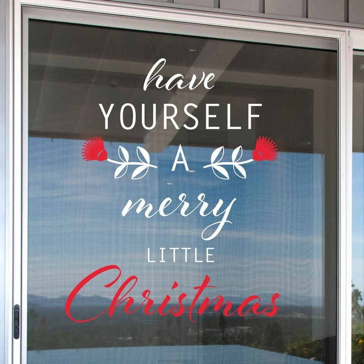 HAVE YOURSELF A MERRY CHRISTMAS WINDOW DECALStarting at $59.00 (dependant on size)With the Christmas Sale season just around the corner, now is the time to be thinking about catching custom...