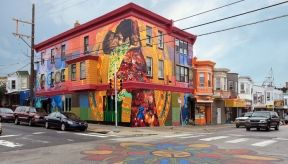Check out the Mural Arts Program's 2013 Tours schedule. More than 3,000 murals enliven Philadelphia's landscape. Try a guided tour via, trolley, bike, train or by foot.