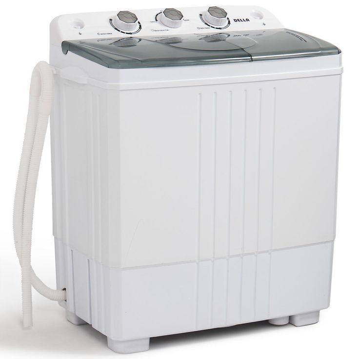 Portable Mini Washing Machine Compact Twin Tub 11lb Washer ...