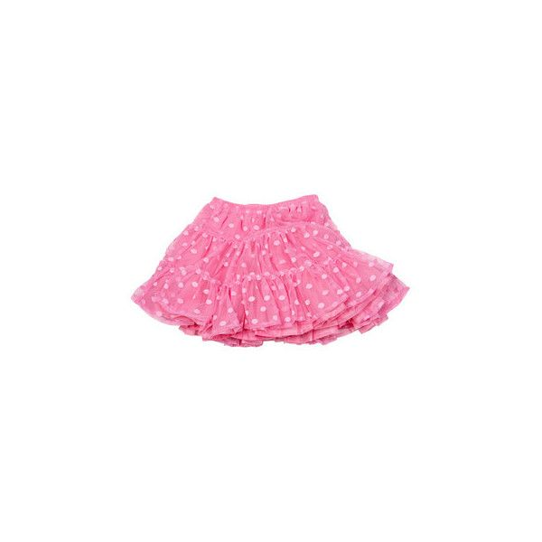 LILA bubble gum skirt Lili Gaufrette ($4.80) ❤ liked on Polyvore featuring skirts, bottoms, pink, polka dot tutu skirt, flared skirt, pink polka dot tutu, pink tutu and pink flare skirt