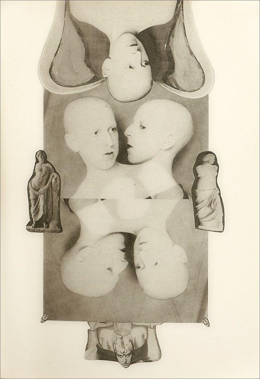Claude Cahun · Self Portrait | Collage · 1930