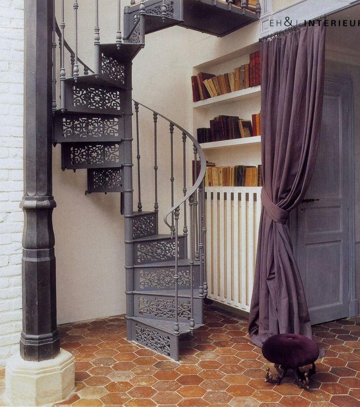 Les 25 meilleures id es de la cat gorie escalier colima on sur pinterest es - Escalier colimacon castorama ...