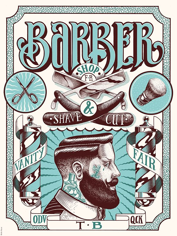 https://www.behance.net/gallery/14995953/Vanity-fair-barber-shop