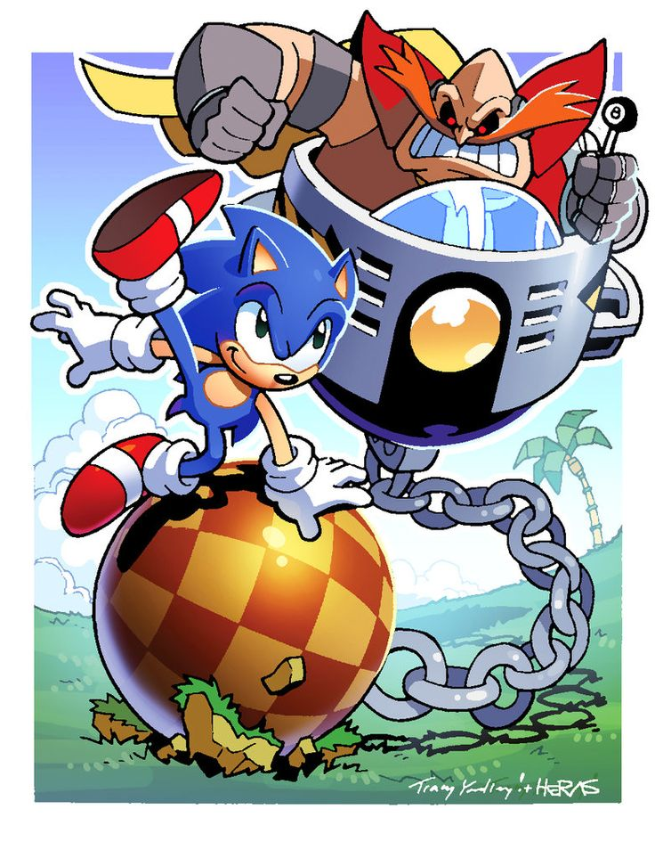 I Hate That Hedgehog! by TheGraphicNovelist