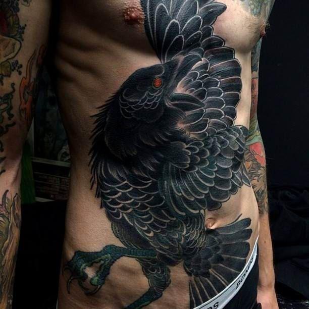 Black Raven Tattoo   #Tattoo, #Tattooed, #Tattoos