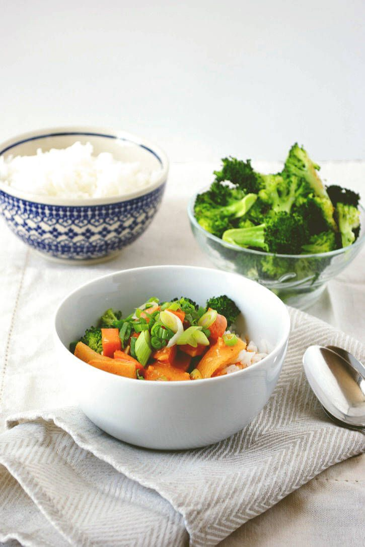 Thai Red Curry Bowl