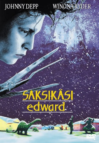 Edward Scissorhands/Saksikäsi Edward DVD