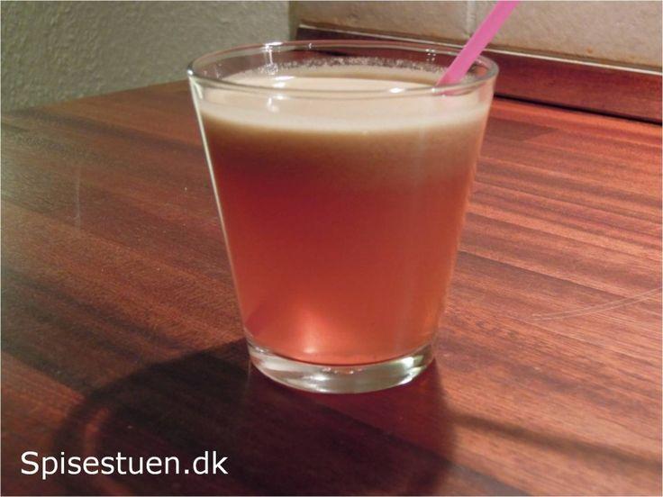 Rød juice 5 - vindruer, æbler og citron