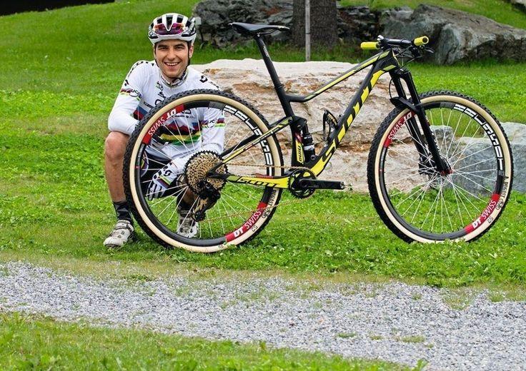 Nino Schurter und sein Wettkampf-Bike für Olympia 2016
