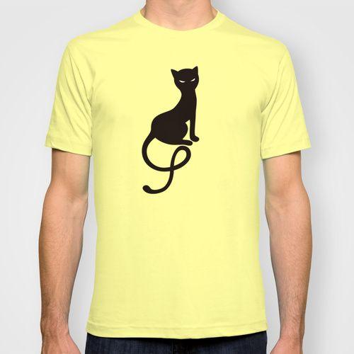 Gracious Evil Black #Cat T-shirt #blackcat #shirt #clothing #fashion #society6