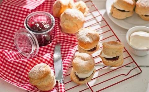 This easy and basic scone recipe is absolutely delicious. Smothered with thick cream and a generous serving of jam, a batch of these golden delights makes a fabulously fruity afternoon tea treat.