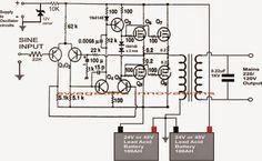 Make This 1KVA (1000 watts) Pure Sine Wave Inverter Circuit
