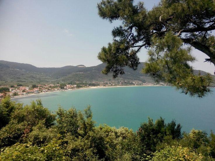 Skala Potamia Beach/ Golden Beach