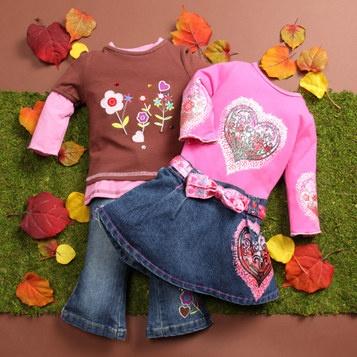 western wear kids clothes