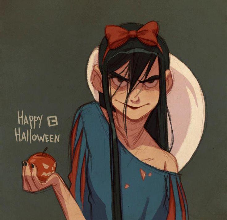 O Halloween já passoPMEu, mas Anna Catish liberou uma arte em comemoração ao Dia das Bruxas. Via Facebook