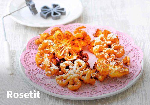 Rosetit, Resepti: Valio #kauppahalli24 #resepti #rosetit #vappu #vappuruoka #jälkiruoka #valio