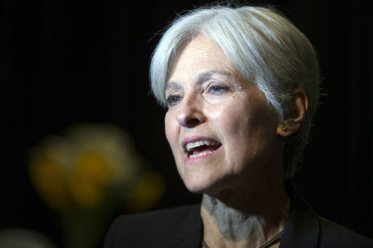 In this Oct. 6, 2016, photo, Green party presidential candidate Jill Stein meets her supporters during a campaign stop at Humanist Hall in Oakland, Calif.