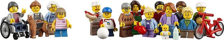 LEGO City Town - Diversión en el parque, gente de la ciudad (6137140): Amazon.es: Juguetes y juegos
