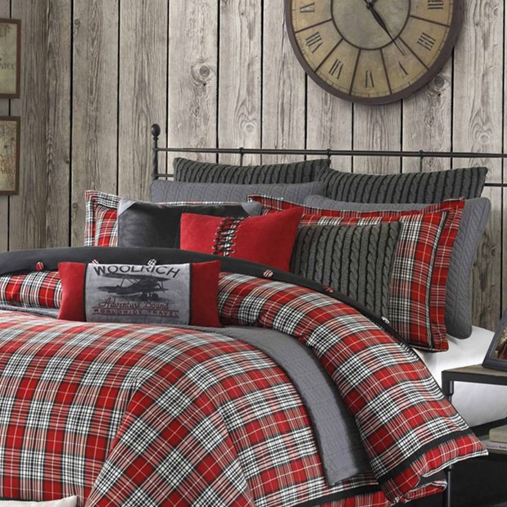 Williamsport Plaid Twin XL Comforter Set for students living in dorm rooms or apartments at college or boarding school, on campus or off.